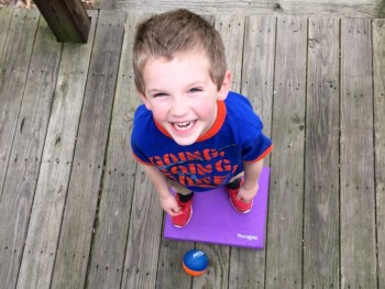 FUN BALANCE EXERCISES FOR A FOAM BALANCEPAD
