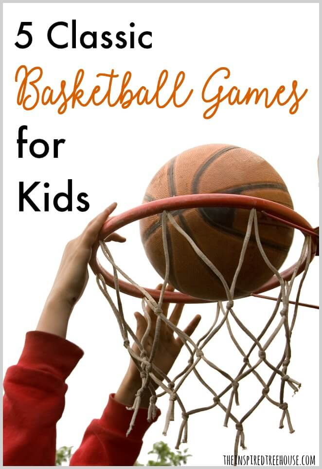 basketball games for kids pin