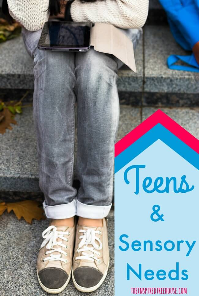 teens and sensory issues pin
