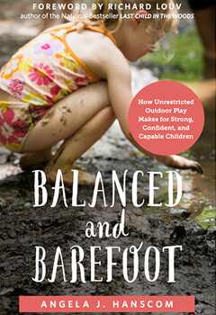 balanced and barefoot outdoor activities