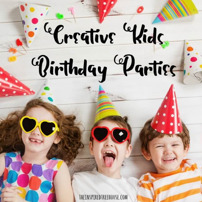 kids birthday party ideas square