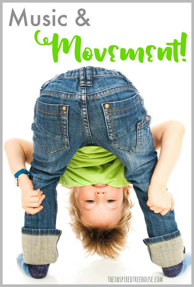 music and movement activities pin