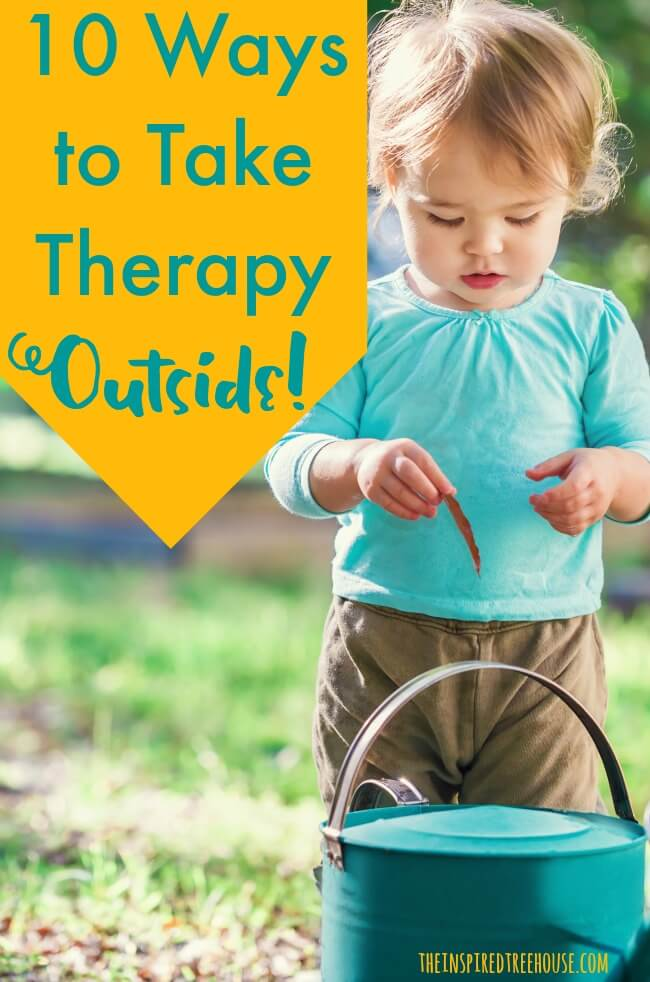 outdoor activities for therapy pin