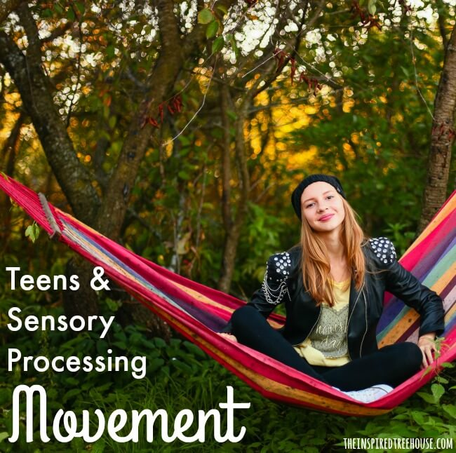 sensory issues and teens movement processing square