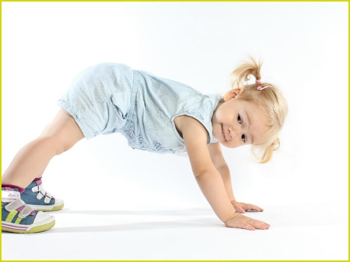 Kids and Core Strength: Body Bridges!