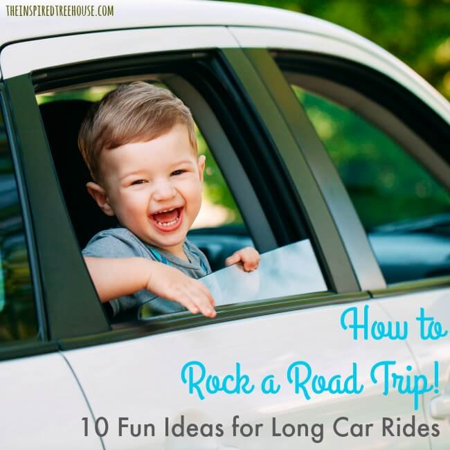 The Inspired Treehouse - 10 Road Trip Ideas to Keep Kids Active and Engaged in the Car! As pediatric occupational and physical therapists, we know how important movement and engagement are for healthy development and sometimes a long car ride can get in the way of that. Here are some ideas to keep everyone busy when you're on the road!