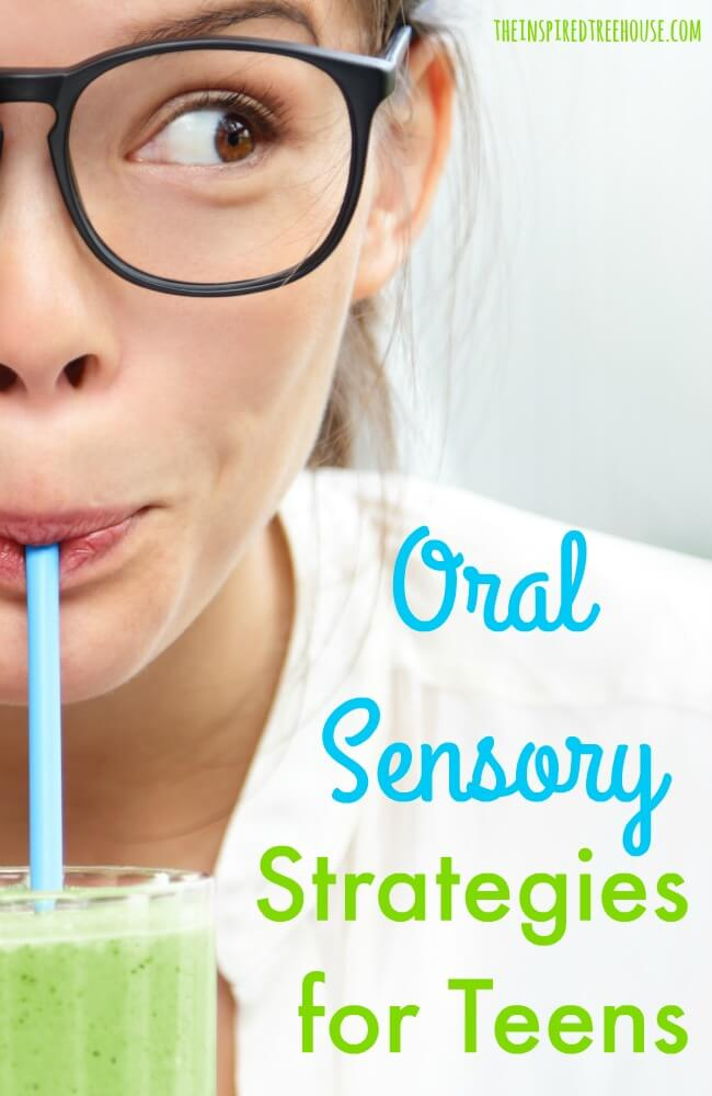Olfactory and Oral Sensory Strategies for Teens - The Inspired ...