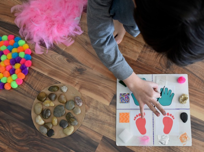 The Inspired Treehouse - If you're looking for DIY games, this bright, colorful sensory activity will target tons of skills at once and keep kids occupied for the whole afternoon!