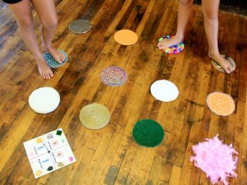 DIY Games: Sensory Twister