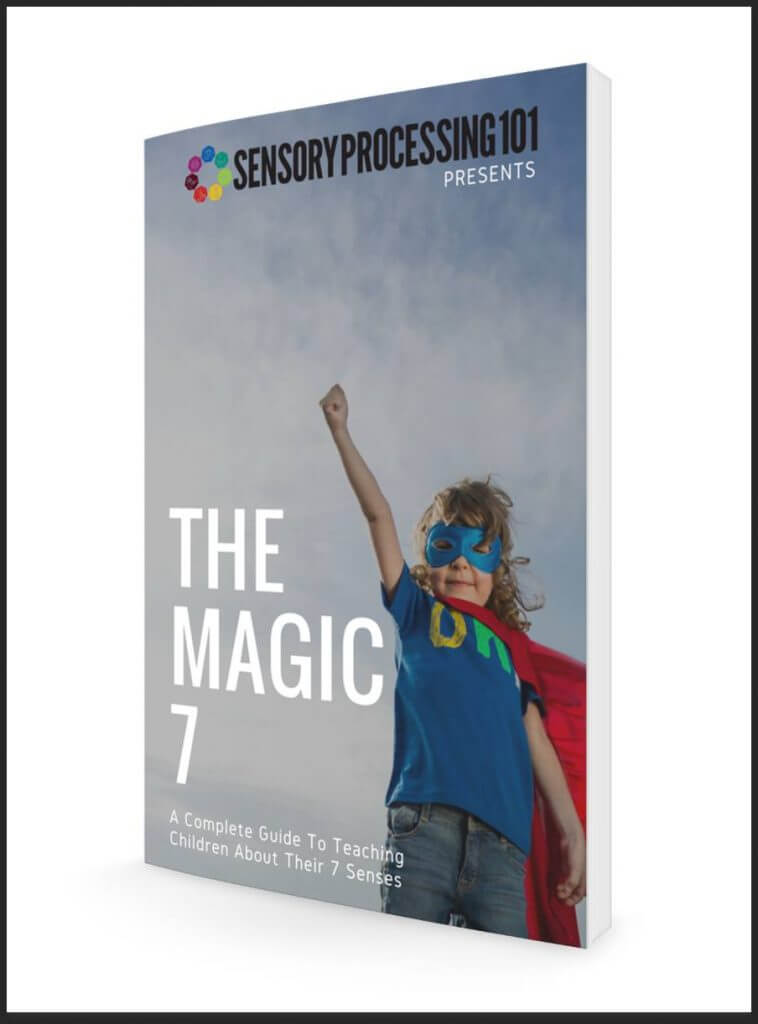 The Inspired Treehouse - The Magic 7 Guide is a 22-page printable download that teaches kids about their sensory systems and sensory processing.