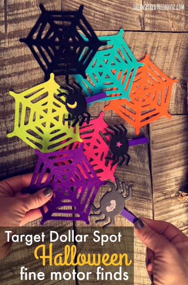 The Inspired Treehouse - Check out these awesome fine motor finds for Halloween from the Target Dollar Spot!