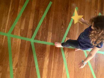 Christmas Activities: Christmas Tree Balance Activity
