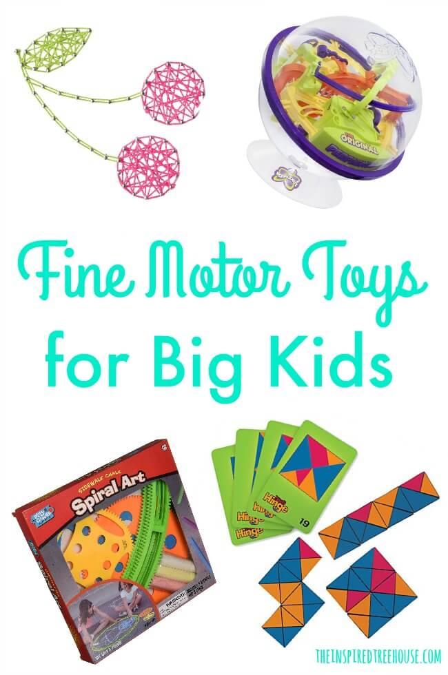 The Inspired Treehouse - Preschool toys for fine motor development.
