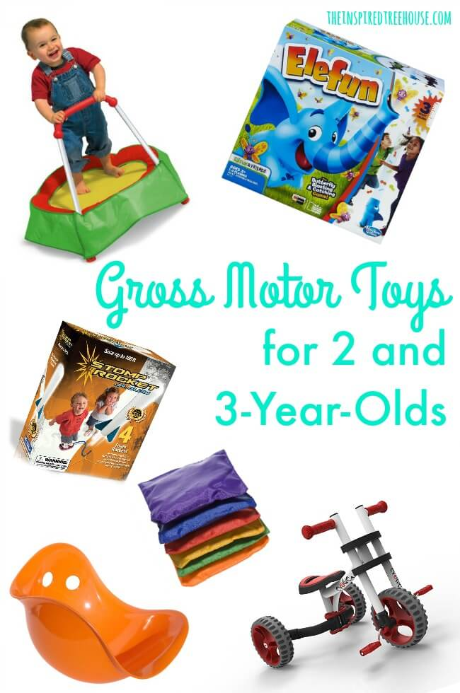 The Inspired Treehouse -Oour Ultimate Child Development Gift Guide - full of awesome toys and products that support healthy development by targeting fine motor skills, gross motor skills, and more!