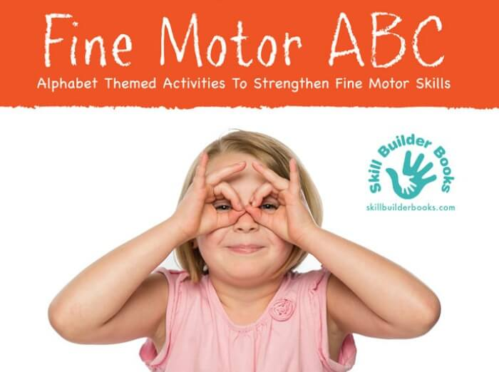 The Inspired Treehouse - Looking for some new fine motor skills activities for kids? Check out Fine Motor ABCs!