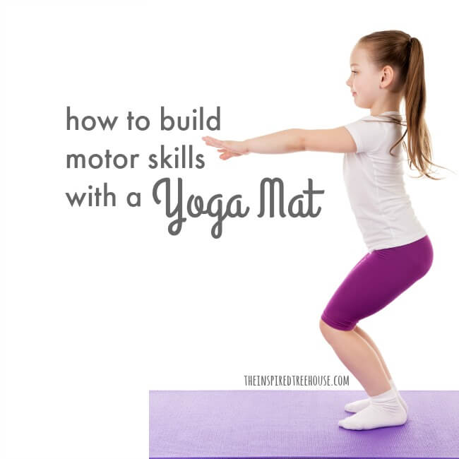 Using A Yoga Mat To Create Simple Activities For Kids The Inspired Treehouse