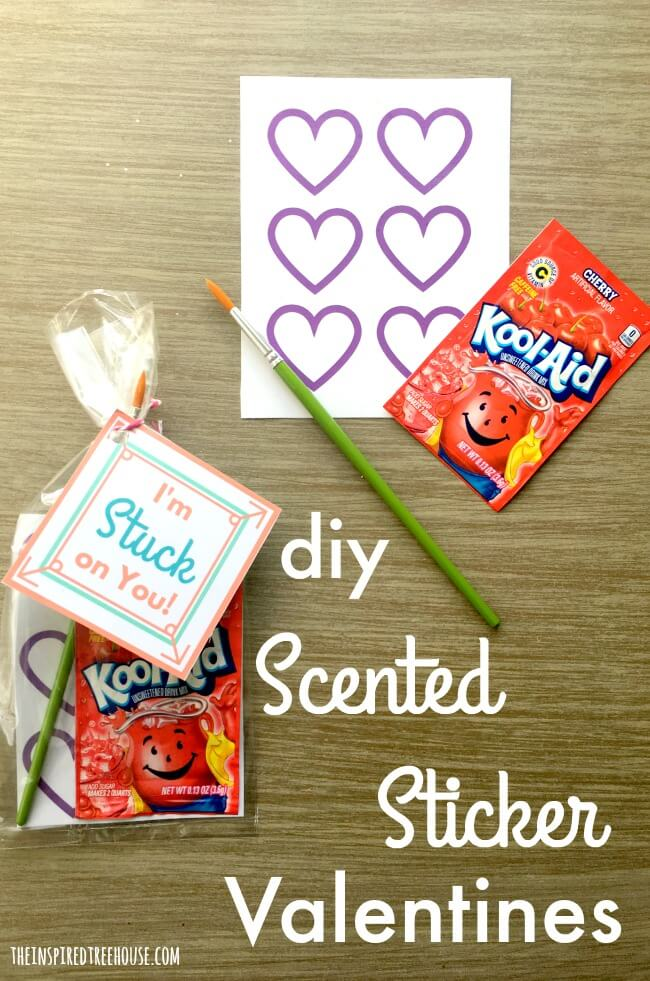The Inspired Treehouse - If you're on the hunt for cute DIY Valentines for kids, you're not alone! We love a good DIY craft that kids can put together.