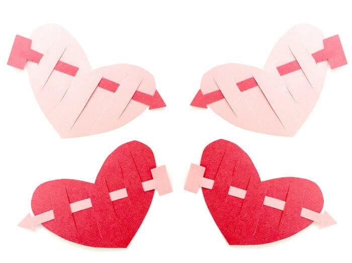 Valentine Crafts for Kids: Shot Through the Heart!