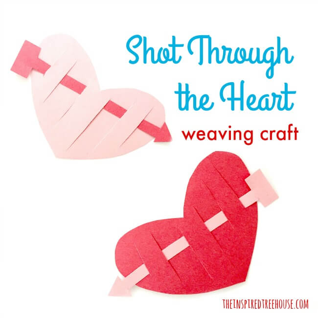 The Inspired Treehouse - We lovefun Valentine crafts for kids that target fine motor and other skills. Here's a new one to try!