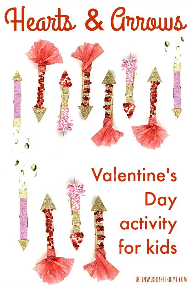The Inspired Treehouse - Looking for Valentine's Day activities? This one will target a whole range of developmental skills for kids!