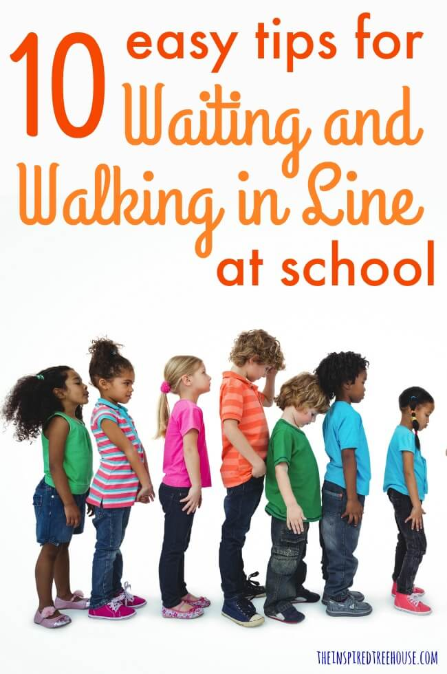 The Inspired Treehouse - Waiting and walking in line are important school-related skills for kids, but can be challenging for many. Check out these simple tips!