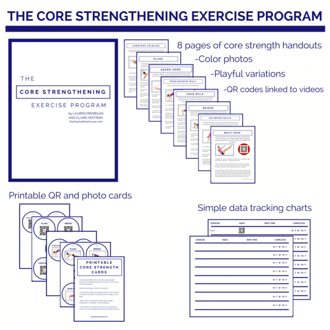 photograph about Printable Exercise Cards named The Main Improving upon Health Software - The Influenced Treehouse