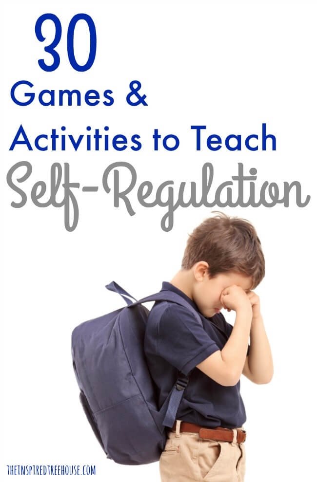 30 Games And Activities For Self Regulation The Inspired