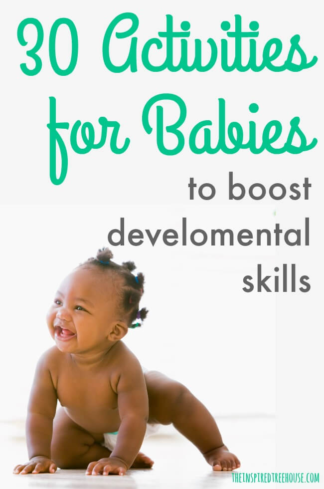 30 Development Boosting Activities For Babies 0 To 12 Months The