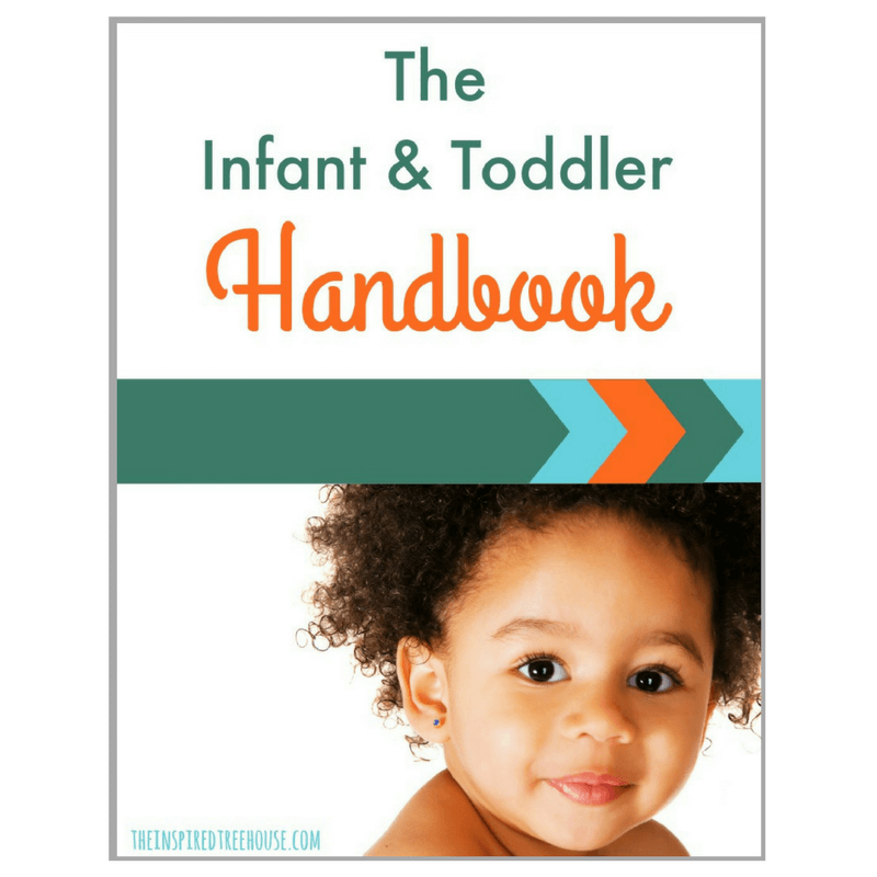 The Inspired Treehouse - The Infant & Toddler Handbook is your go-to resource about toddler and baby development.