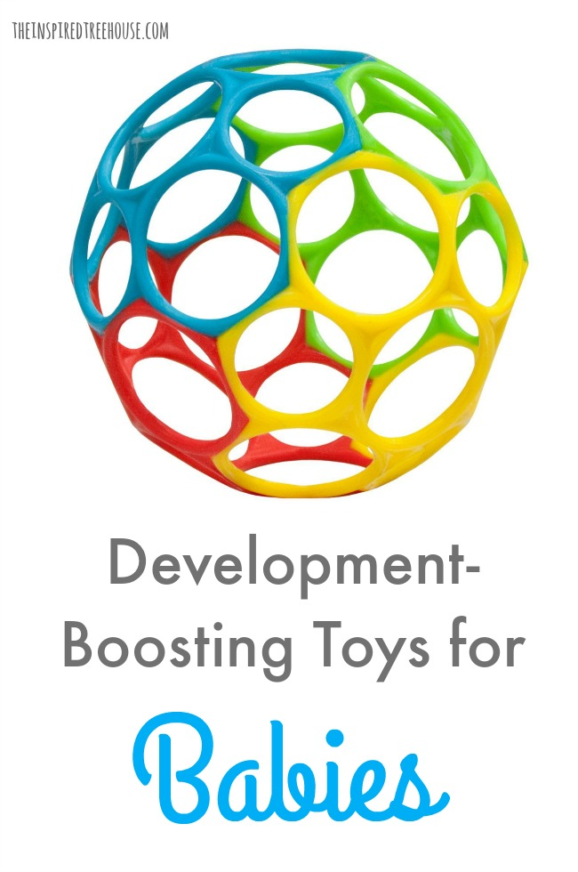 The Inspired Treehouse - Every once in awhile, we come across toys for babies that are the perfect thing to add into the mix to keep little ones' interest during play while promoting important skills.
