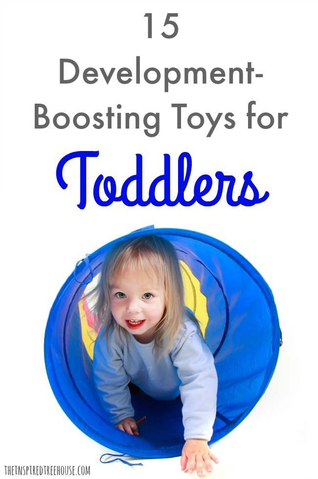 The Inspired Treehouse - Toys for toddlers can be powerful tools when it comes to promoting gross motor, fine motor, and sensory motor skills!