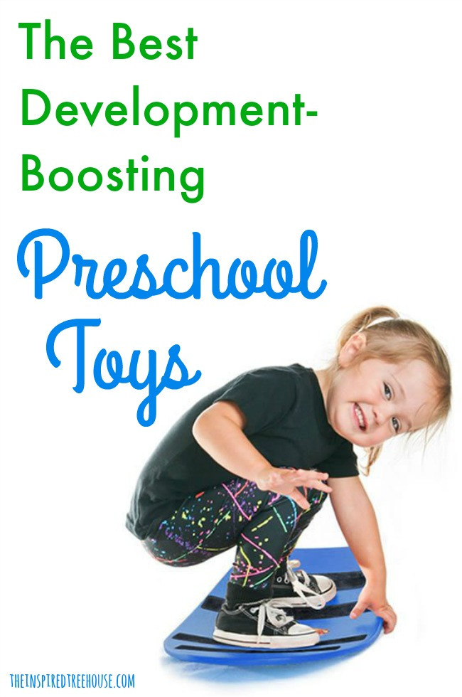The Inspired Treehouse - These development-boosting preschool toys are the perfect way to promote developmental skills while having fun!