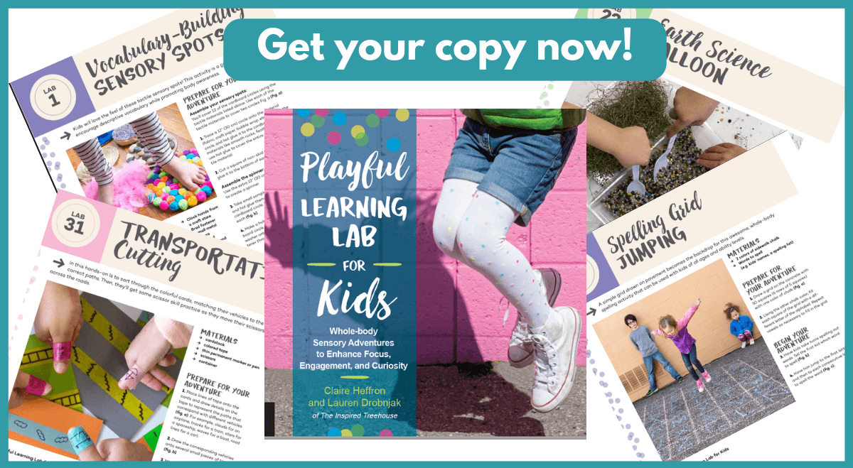 Playful Learning Lab for Kids: Whole Body Sensory Adventures to Enhance Focus, Engagement and Curiosity