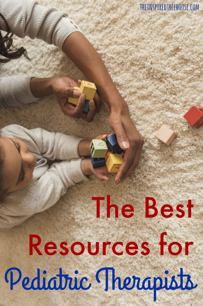 The Inspired Treehouse - All of our best resources for therapists in one place!