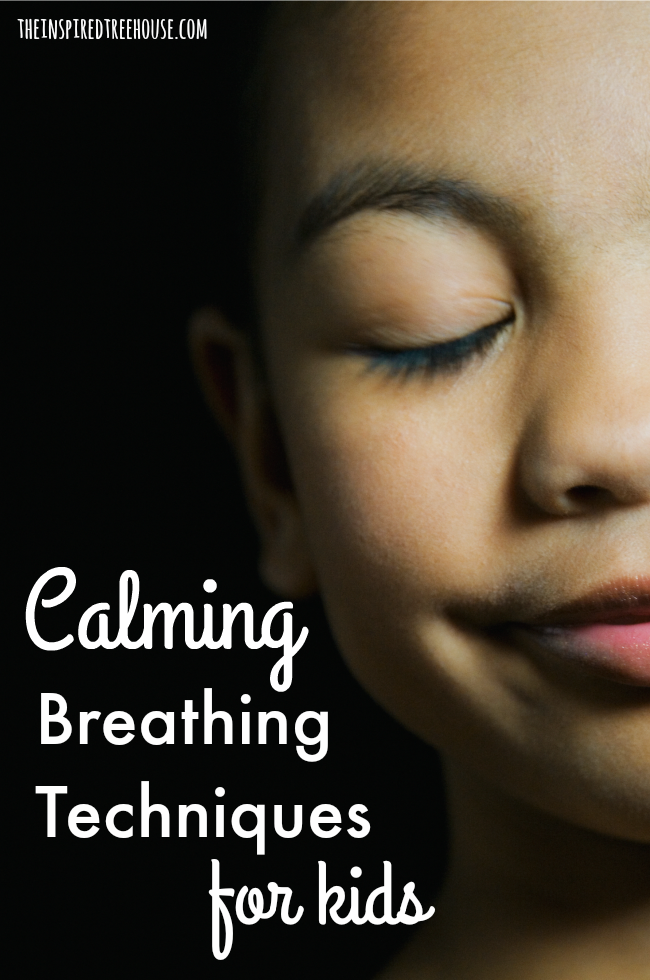 The Inspired Treehouse - These calming breathing techniques for kids are great strategies for supporting self-regulation and calm behavior at home, in the classroom, and beyond!