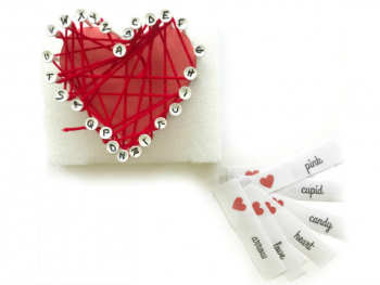 Valentine Games: Yarn Wrapped Heart