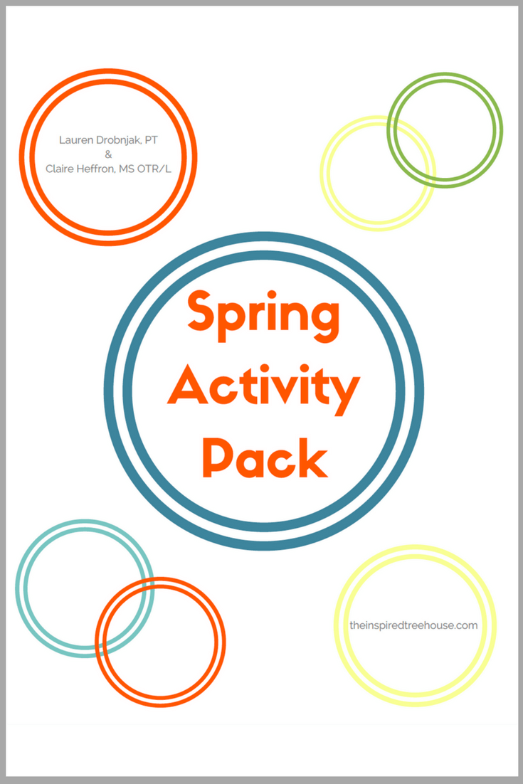 The Inspired Treehouse - Spring has sprung!  And there's no better time to find fun, engaging activities to support kids' development in all areas!  Our Spring Activity Pack is the perfect place to start!