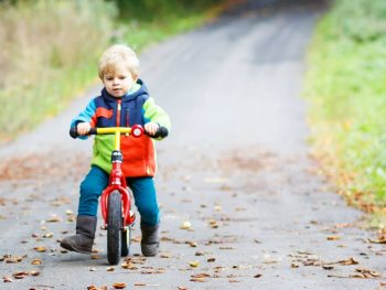 The Best Balance Bike is One You Already Own!