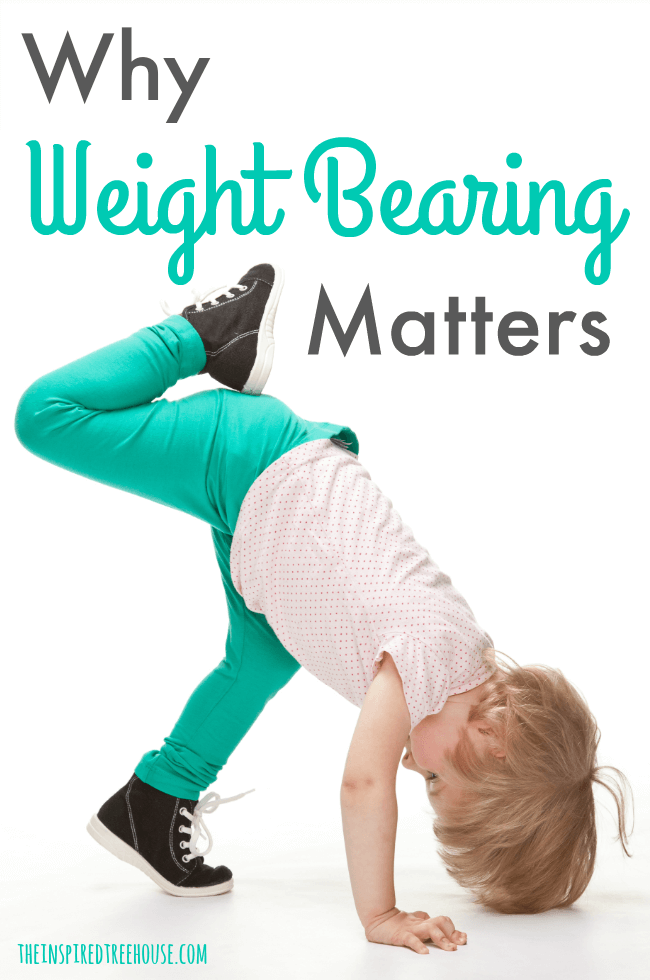 The Inspired Treehouse - Weight bearing activities are critical in the progression of developmental skills for kids!