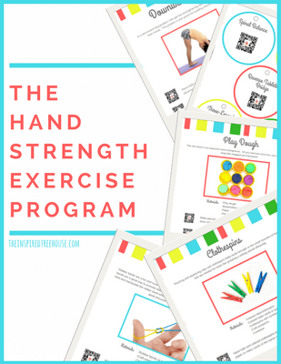 The Inspired Treehouse - Check out our Hand Strength Exercise Program!
