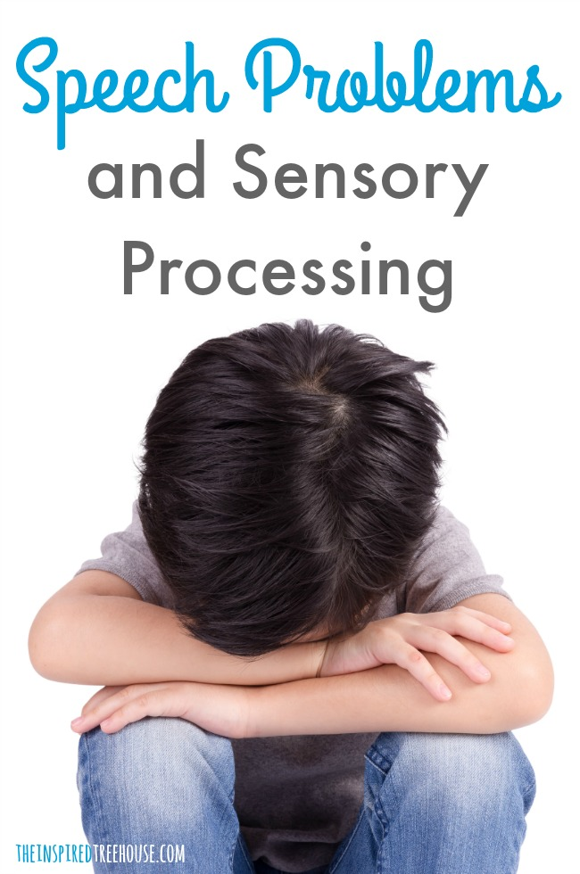 The Inspired Treehouse - Learn how sensory processing disorder and speech problems can overlap (& how to help!)