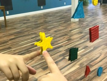 The Inspired Treehouse - Making these DIY window clings is a great fine motor activity for kids and playing with them can promote coordination, body awareness, and more!