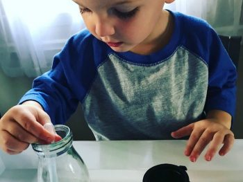 Witch's Brew Halloween Activity for Toddlers