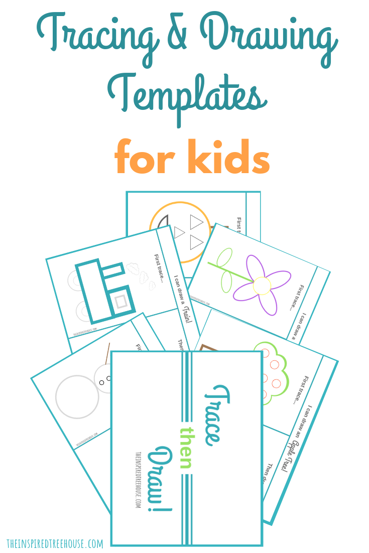 The Inspired Treehouse - These templates offer some basic drawings for kids so they can get the practice and exposure they need to feel more confident and creative with drawing!