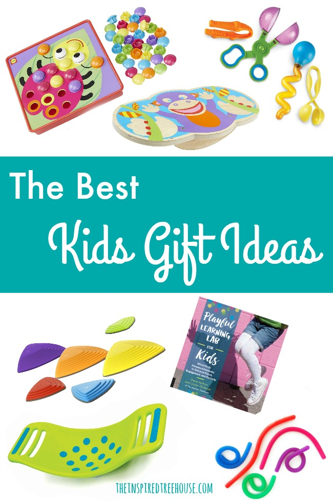 The Inspired Treehouse - These kids gift ideas are perfect for promoting developmental skills for all ages and abilities!
