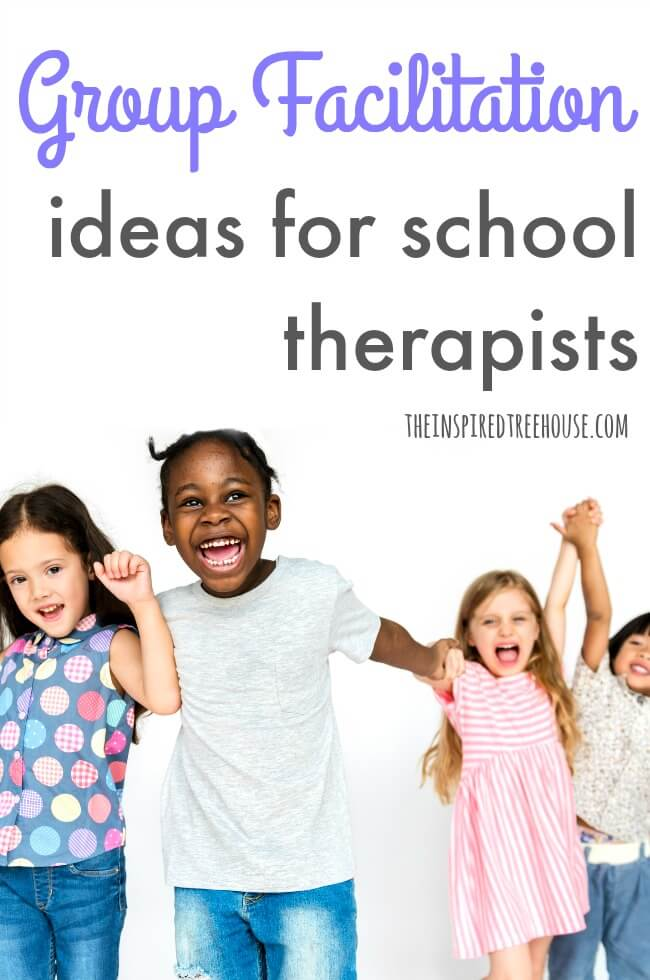 The Inspired Treehouse - These tips and strategies for group facilitation will come in handy for any pediatric therapist who is working with groups of kids during treatment sessions.