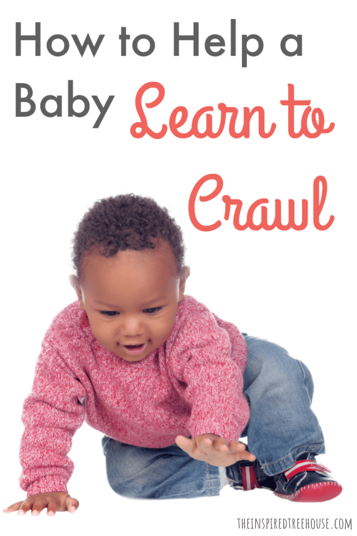 "The Inspired Treehouse - Learn how to help a baby crawl and check out some of the most common alternative ""crawling"" patterns we've seen in our therapy practice."