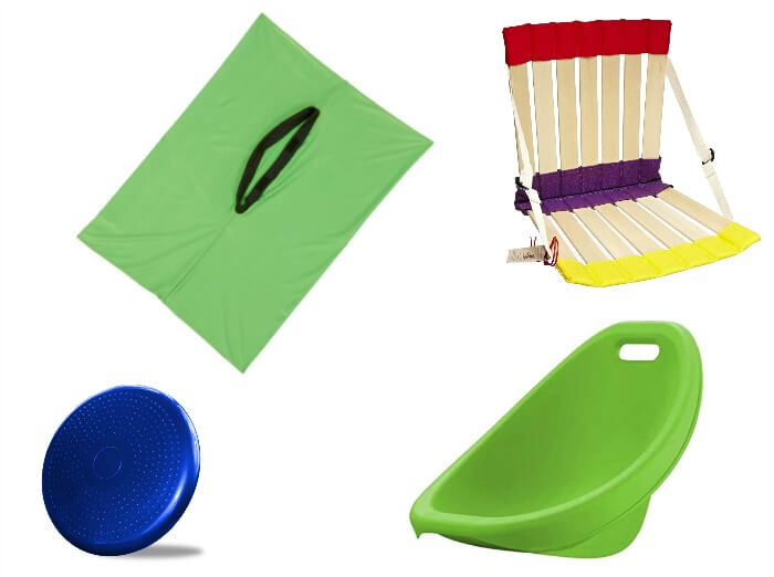 Colorful floor seats for kids