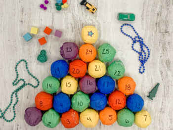 DIY Advent Calendar for Fine Motor Skills