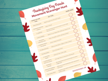 Scavenger Hunt Games: Macy's Thanksgiving Day Parade
